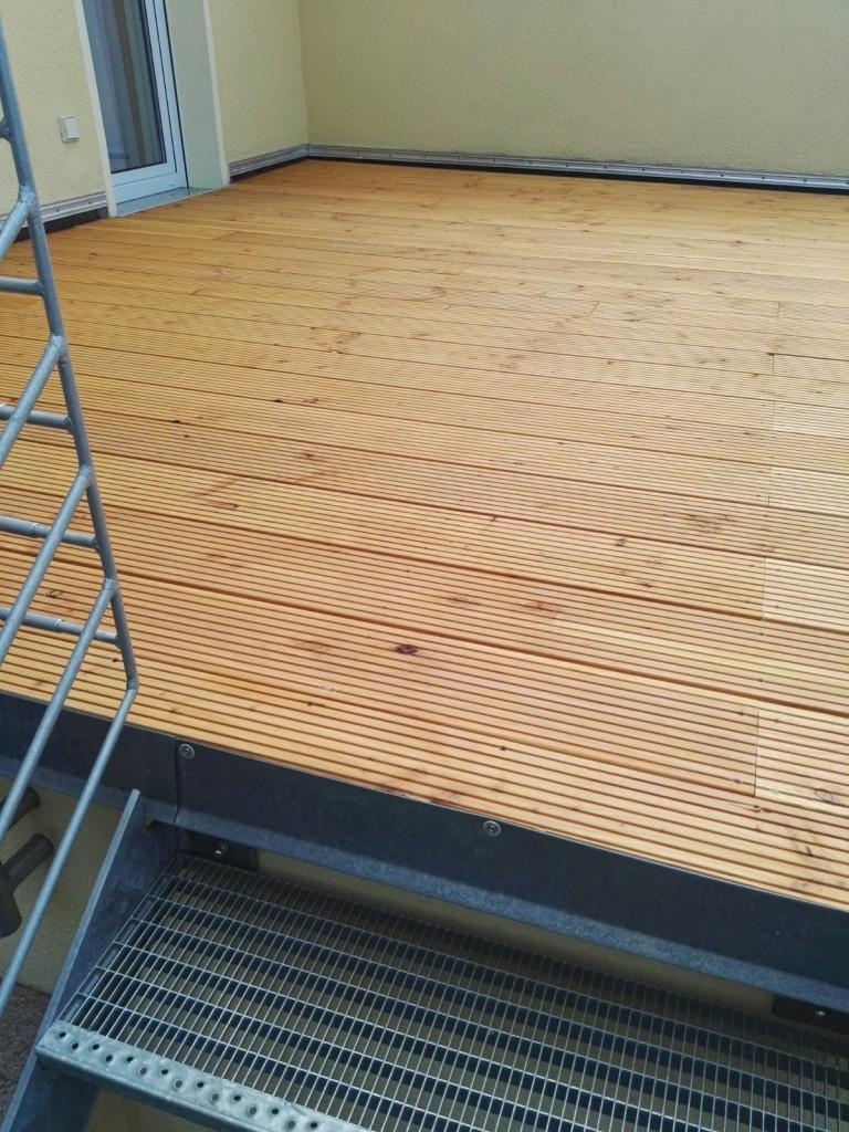 Wohlfühlterrasse aus Holz